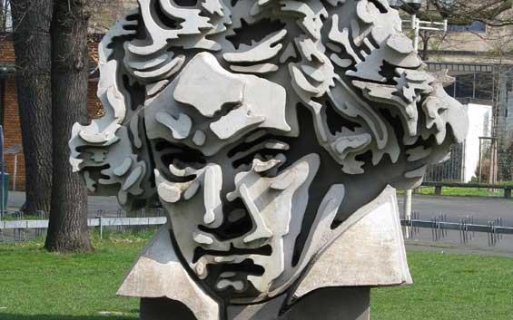 Bonn, geboortestad van Beethoven.