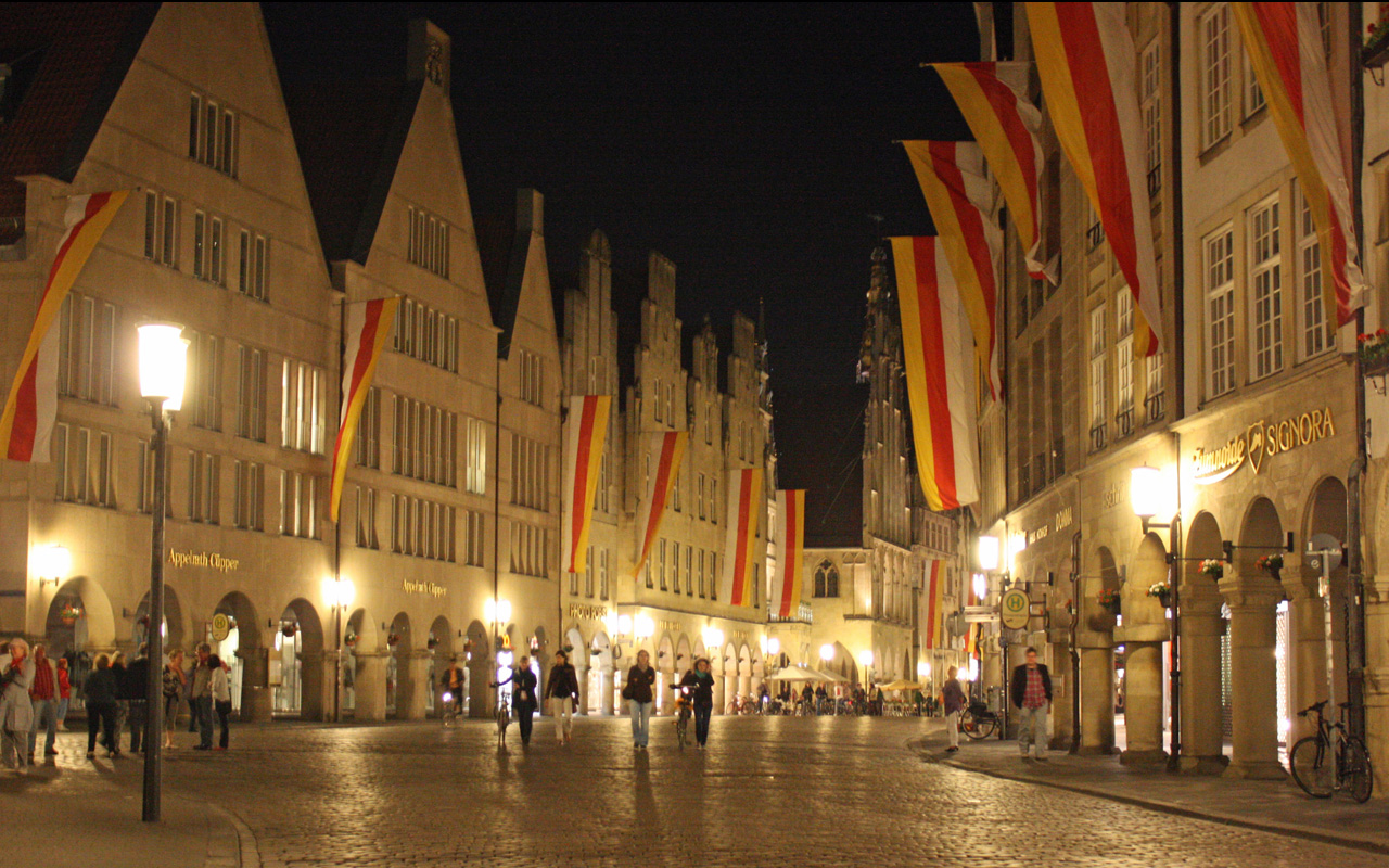Prinzialmarkt Münster Duitsland