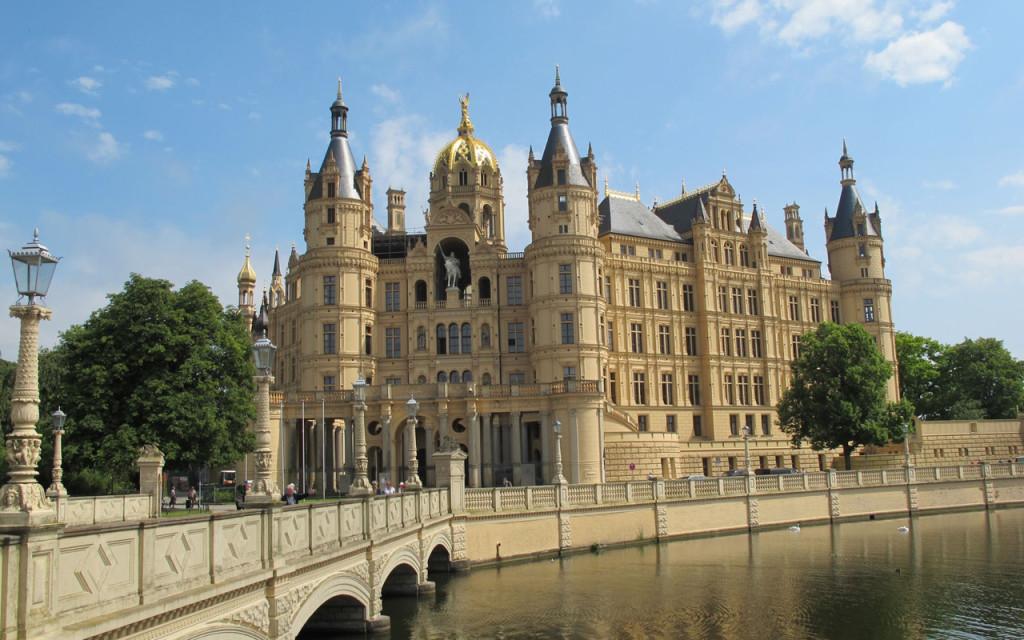 Schloss Schwerin in Duitsland