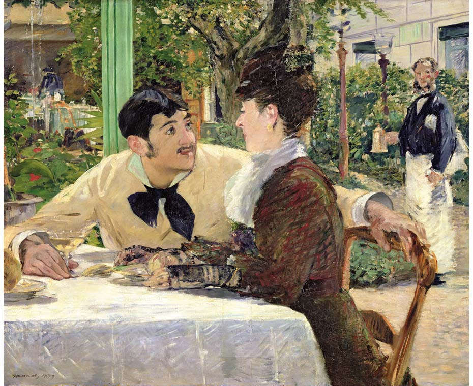 Edouard Manet tentoonstelling Wuppertal Père Lathuille