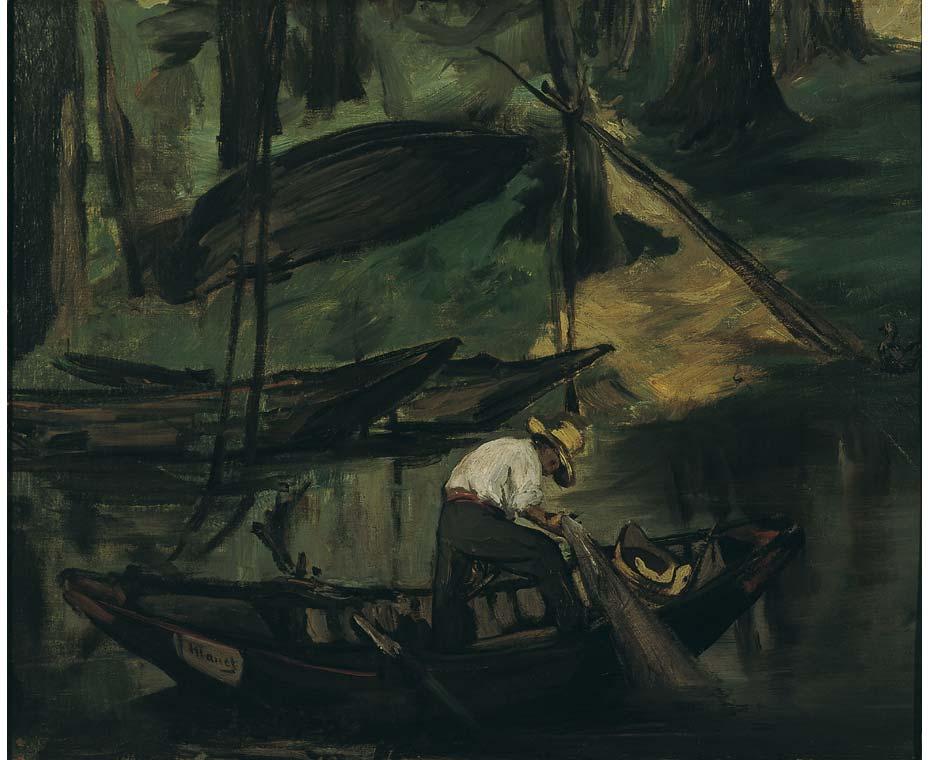 Edouard Manet tentoonstelling Wuppertal de visser