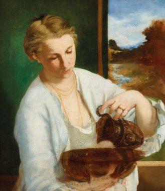 Edouard Manet tentoonstelling Wuppertal vrouw met kruik
