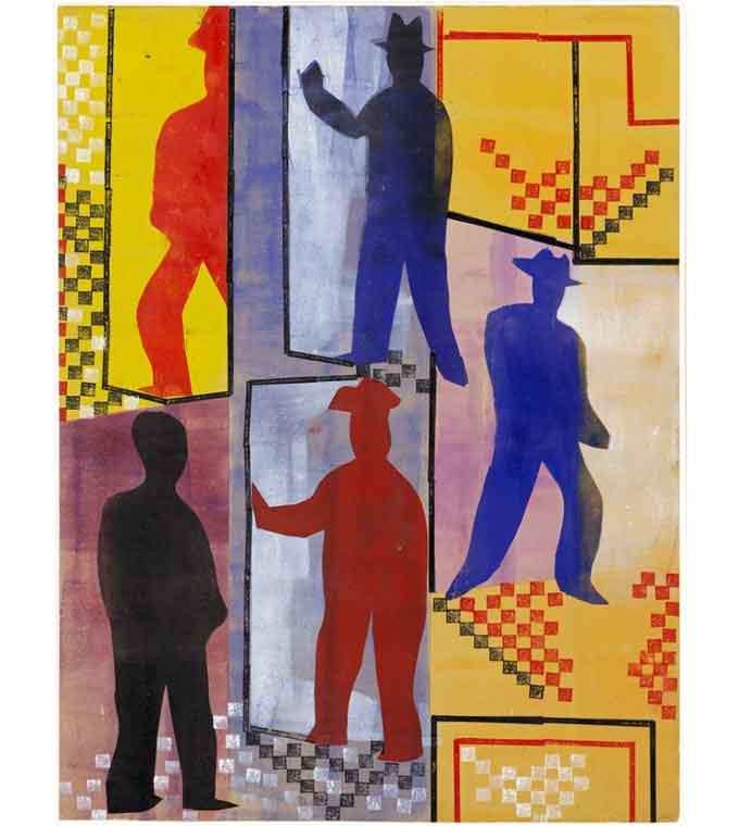 Tentoonstelling Duitsland Schwerin Werkman