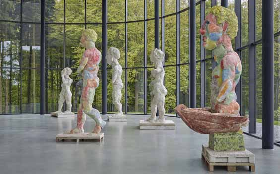 Wuppertal Waldfrieden Skulpturenpark tentoonstelling Markus Lüpertz