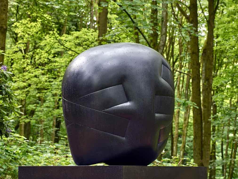 Hede Bühl Skulpturenpark Waldfrieden tentoonstelling