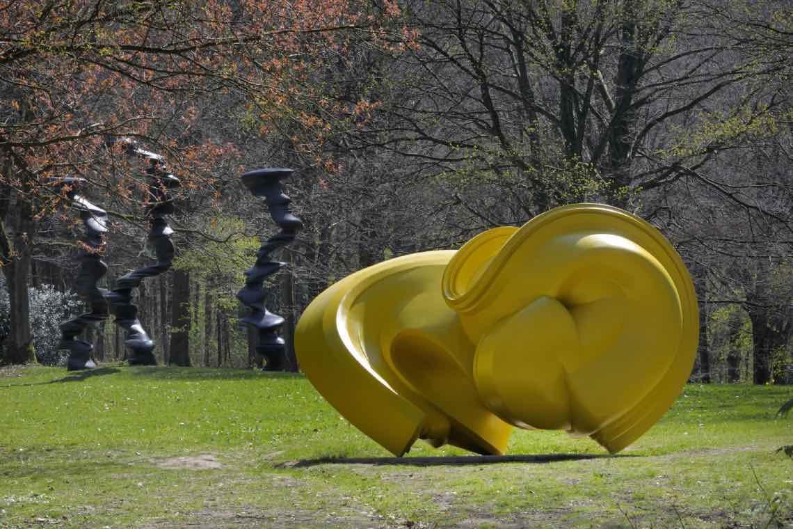 Tony Cragg, Declination in Skulpturenpark Waldfrieden Wuppertal