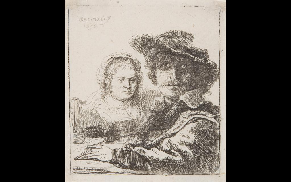 Rembrandts Meistergrafiken tentoonstelling etsen schwerin