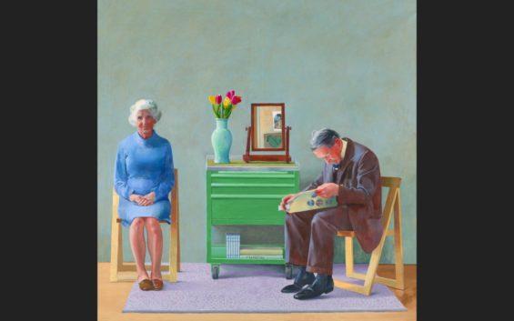 David Hockney tentoonstelling Hamburg