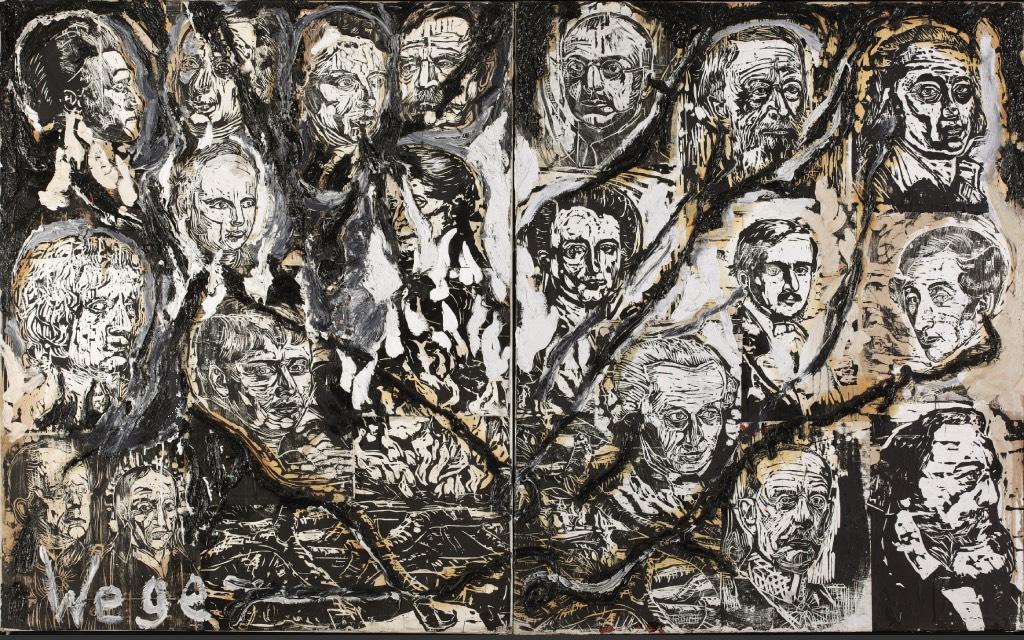 Baselitz, Richter, Polke en Kiefer tentoonstelling Hamburg