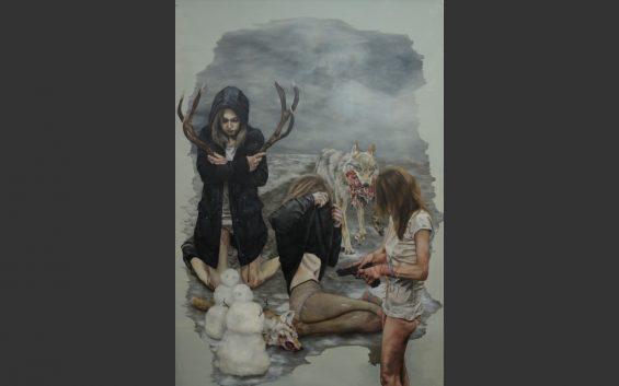 Jetzt jonge schilders uit Duitsland, tentoonstelling Hamburg
