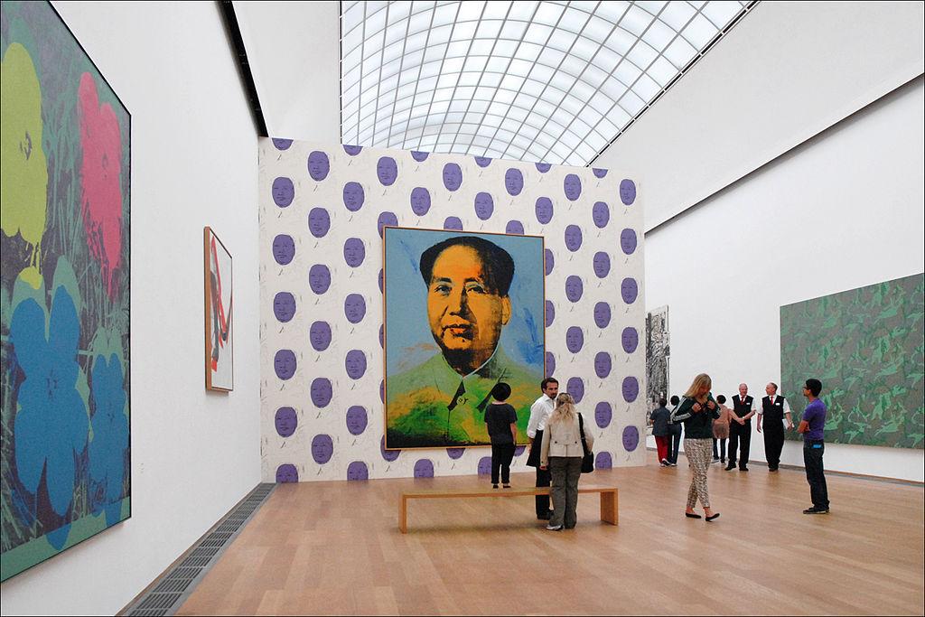 Andy Warhol - Mao Hamburger Bahnhof Berlijn