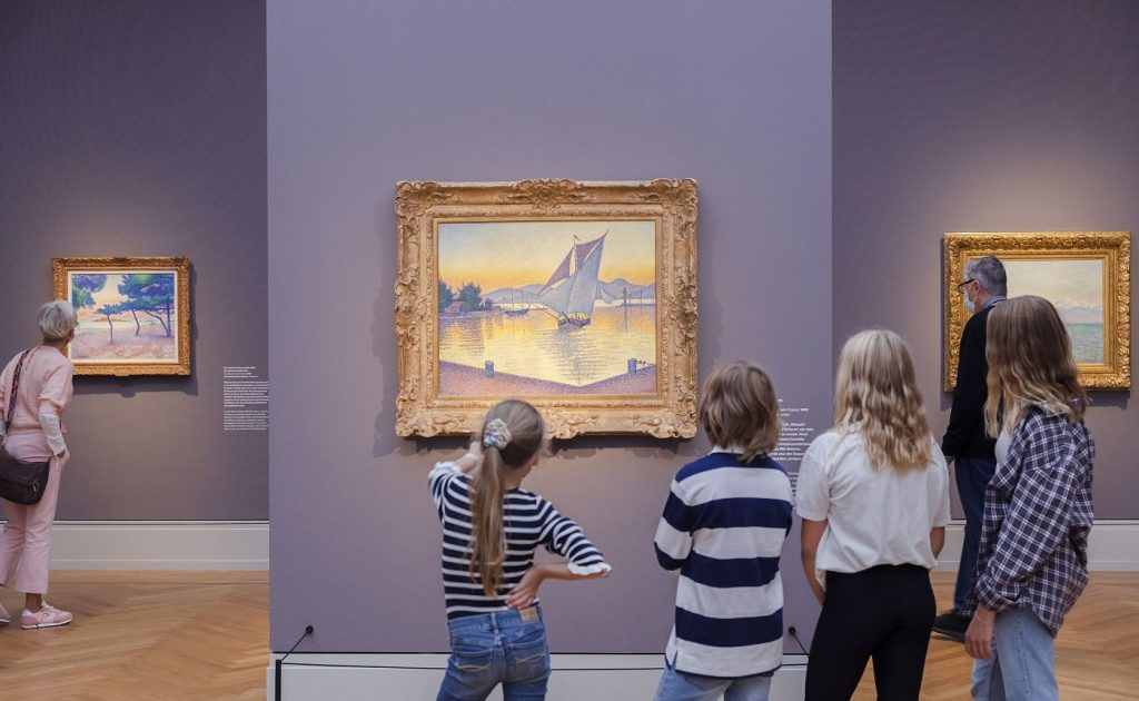 Impressionisme in Museum Barberini Postdam Berlijn