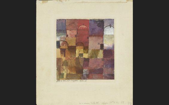 Klee in Noord Afrika tentoonstelling Berlijn Museum Berggruen