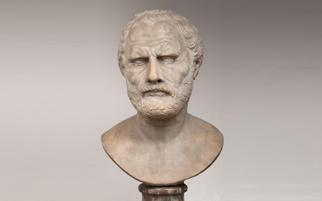 Portretkunst in de Griekse Oudheid - Demostenes