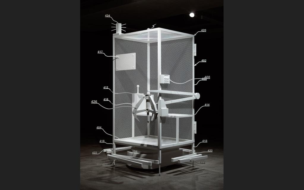 Simon Denny - Mine tentoonstelling Düsseldorf in K21 Ständehaus