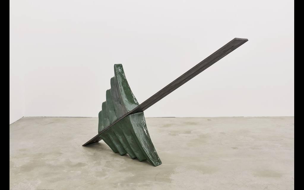 Leunora Salihu - Wellenlänge tentoonstelling Wuppertal Skulpturenpark Waldfrieden