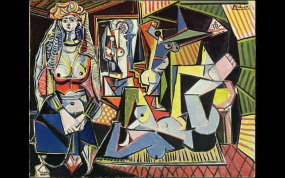 Picasso - Les femmes d'Alger tentoonstelling Museum Bergruen Berlijn