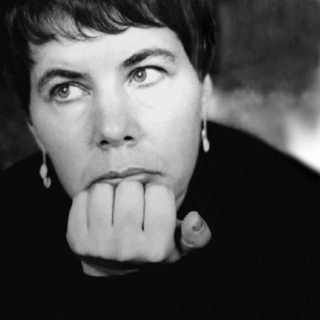 Ute Klophaus zelfportret