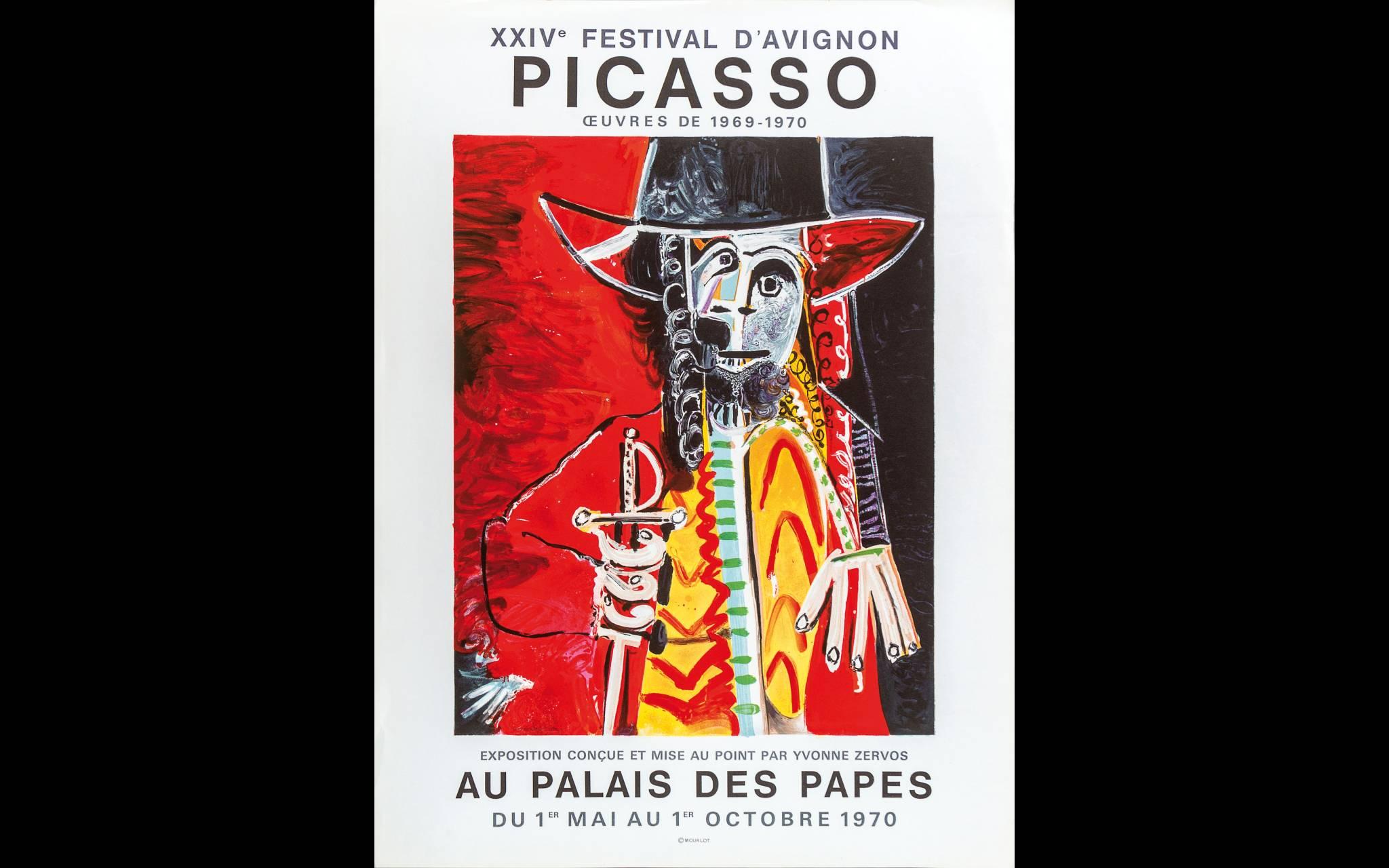 Affichekunst tentoonstelling Münster - Pablo Picasso 1970