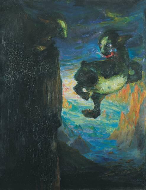 Emil Nolde tentoonstelling Hamburg