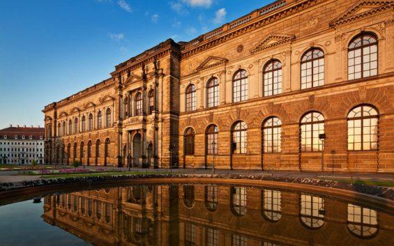 Gemäldegalerie Alte Meister, Semperbau, Zwinger, Dresden